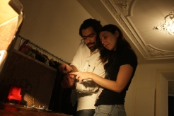 Gregory Grigoropoulos and Zina Papadopoulou in Lena Platonos: Moving House